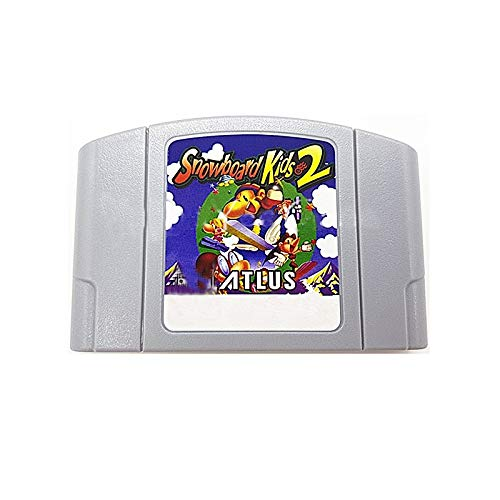 ASMGroup Nintendo N64 Video Games Snowboard Kid 2 English Language for 64 bit USA Version Video Game Cartridge Console