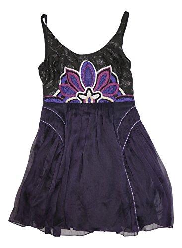 Free People Women's Lotus Pond Dress Purple MD (Women's 8-10) (Pond 5500)