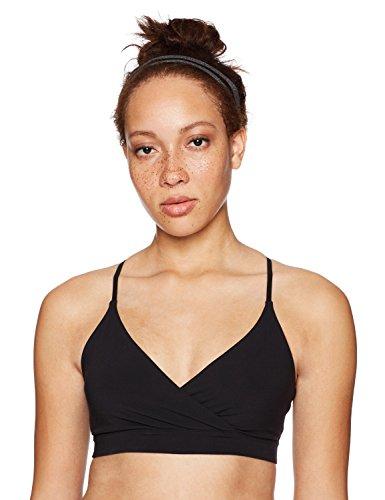 Core 10 Women's Icon Series - The Ballerina Sports Bra, Black, Large