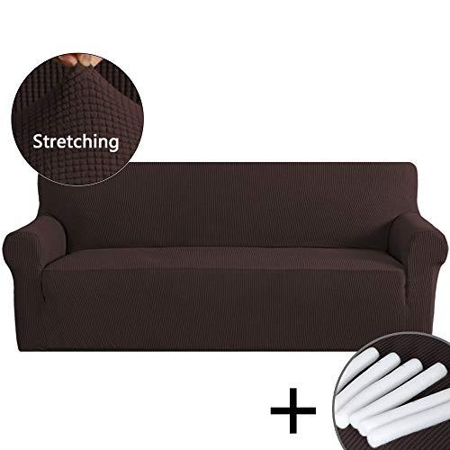 PrimeBeau Ultimate Stretch Spandex Knit Jacquard Sofa Slipco