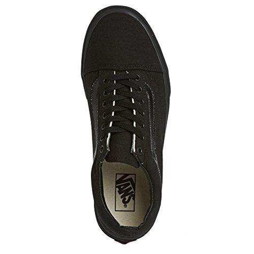 Vans Sk8-Hi - Zapatillas de skateboarding de ante para hombre negro