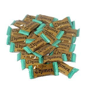Peppermint Ginger Chews - Chimes Peppermint Ginger Chews, 1lb Bag