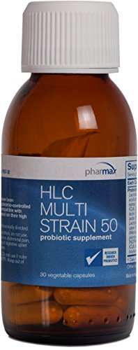Pharmax - HLC Multi Strain 50 - Probiotic Supplement to Support Gut Flora* - 30 Capsules by Pharmax