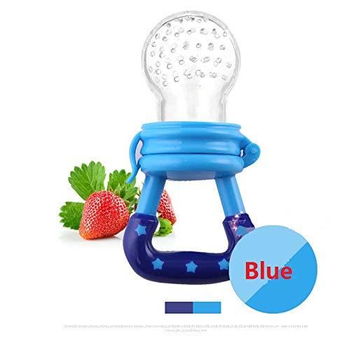 Baby Pacifier Fresh Food Nibbler Feeder Toddlers Nipple Teat Bottles with Fresh Fruits Vegetables Feeding 1 Pcs