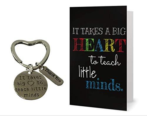 Infinity Collection Teacher Keychain and Card Bundle, Teacher Jewelry, Teacher Gift - Show Your Teacher Appreciation