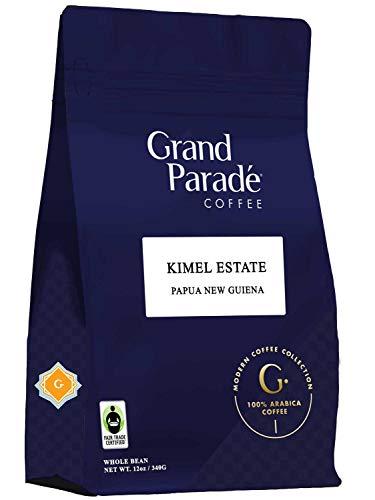 Papua New Guinea, Whole Bean, Medium Roast, Fair Trade, 12 Ounce