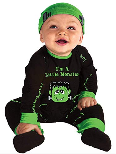 UNK Baby Monster Costume - Lil Monster Newborn or Infant Costume 0-6 Months -