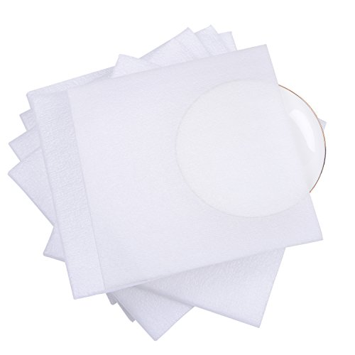 """Foam Wrap Pouches 7 1/2"""" x 7 1/2"""" (30 Count), Cushion Pouches to Protect Dishes, Glasses, Porcelain & Fragile Items, Packing Supplies for Moving by Delixike"""