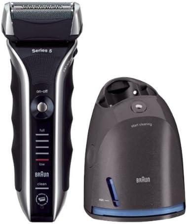 Braun Series 5 590cc-3 - Afeitadora eléctrica de papel macho, recargable con cargador de limpieza y renovación: Amazon.es: Salud y cuidado personal