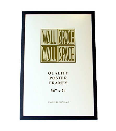Black Wooden Poster Frame - 36\