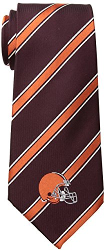 NFL Cleveland Browns Men's Woven Polyester Necktie, One Size, Multicolor