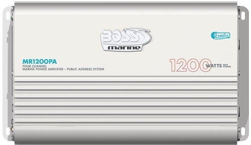 BOSS MR1200PA 1200 Watt Amplifier Subwoofer