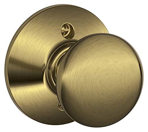 Schlage Lock Company F170 PLY 609 Schlage 134 N Nsl Plymouth Dummy Antique Brass