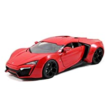 Fast and Furious 7 Lykan Hypersport 1/18 Scale Diecast Model Car