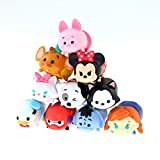 Disneys Tsum pcs/Lot 3.8cm Tsum Tsum Frozen Anna Donald Mickey Winnie Duck Toys Cute Model Doll Bathing Toy For Children' Gift