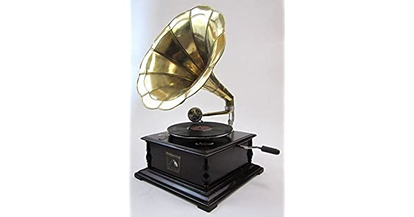 Amazon.com: Antique Reproduction RCA Victor Fonógrafo ...
