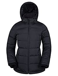 Mountain Warehouse Frosty Womens Down Jacket Black 14