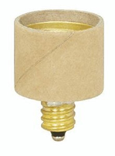 Pack Of 10 E12 Candelabra To E26 Medium Base Screw Light Bulb Socket Enlarger