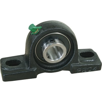 NorTrac Pillow Block - 2-Bolt Oval Mount, 2in.