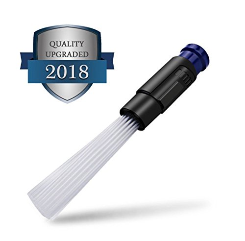 LingAo Universal Vacuum Attachment Dust Remover Cleaning Tools for Vents, Keyboards,Drawers,Car,Tools,Crafts,Jewelry,Plants,Rattan (Universal Vacuum Attachment)