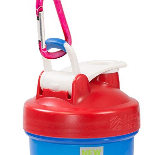 BlenderBottle Full Color Bottle - All American Colors with Shaker Ball - Red, White, and Blue - 32oz by Blender Bottle (Image #2)