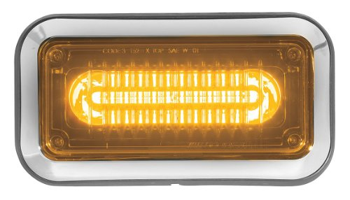 Perimeter Light, LED, Amber, Surf, Rect, 6InL ()