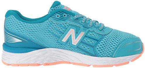 New Balance Girls' 680v5 Running Shoe, Ozone Blue/Fiji, 12 M US Little Kid by New Balance (Image #7)