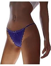 HHWY Damspetsslinga stringtrosa stringtrosa stringtrosor sömlösa eleganta sexiga trosor enfärgad låg midja trosor underkläder underkläder underkläder för kvinnor bikinis trosor hipster