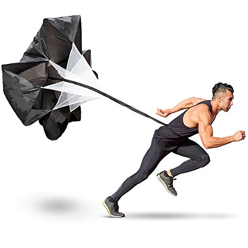 (Resistance Parachutes for Sprint Speed and Strength Training with Drawstring Storage Bag (48