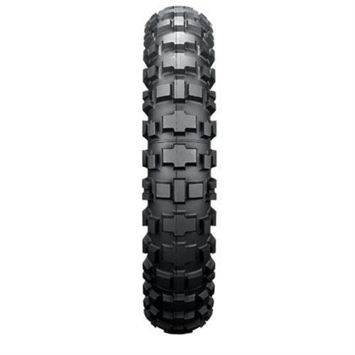 Dunlop D908 Rally Raid Enduro Tire - Rear - 140/80-18 , Speed Rating: R, Tire Construction: Bias, Tire Size: 140/80-18, Rim Size: 18, Load Rating: 70, Position: Rear, Tire Type: Dual Sport, Tire Application: All-Terrain 313393 by Dunlop
