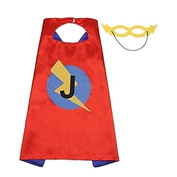 amazon lynda sutton superhero capes kids initials of name birthday