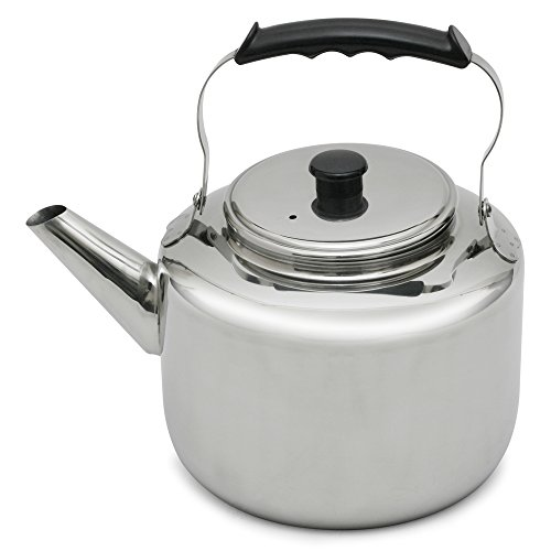 Lindy's 47444 Stainless Steel Water Kettle, 7-Quart, Silver