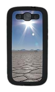 Sky Mirror Custom Design Samsung Galaxy S3 Case Cover - TPU - Black