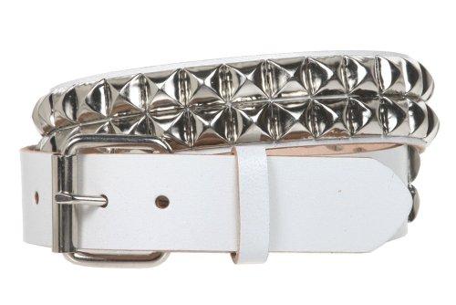 White Rock Star Studded Belt - 4