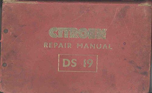 1960-citroen-ds19-original-factory-shop-repair-manual
