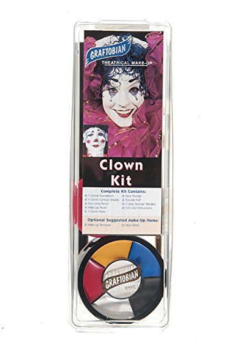Deluxe Clown Makeup Kit - ST