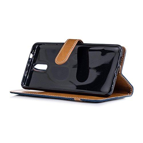 Flip Cuir 2018 Nokia Housse Coque 3 BONROY 1 PU xwqRTgYw0n
