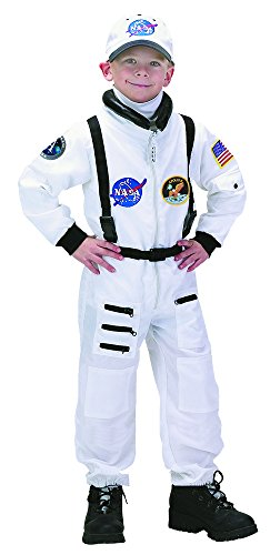 Aeromax Apollo 11 NASA Astronaut Suit Costume, 4/6, White