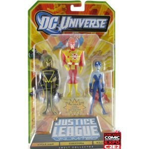 Dc Unlimited Toys (DC Universe Justice League Unlimited Action Figure 3Pack Angle Man, Firestorm Killer Frost)