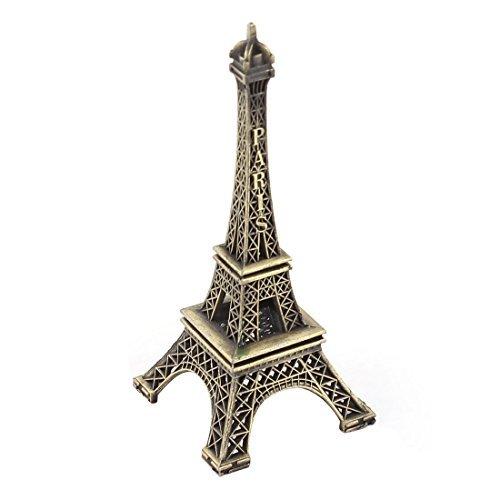 Finition bronze 10 cm Mod/èle de tour Eiffel Vogholic en m/étal