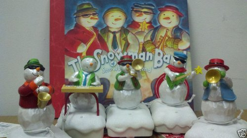 2010 and 2011 Set of Five Snowman Wireless Band plus ()