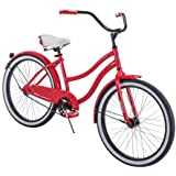 "Comfortable,Stylish and Elegant Huffy 24"" Cranbrook Girls' Cruiser Bike Frame That Eliminates Back,Arms and Leg Fatigue…"