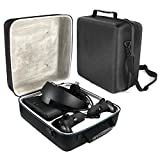 jannyshop VR Gaming Headset Controller Accessories Protective Bag Portable Hard Carrying Case for Oculus Rift S PC-Powered