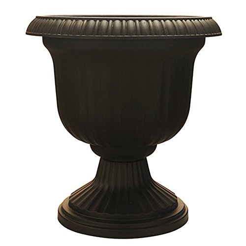 topian Urn, Black (Urn Pot)