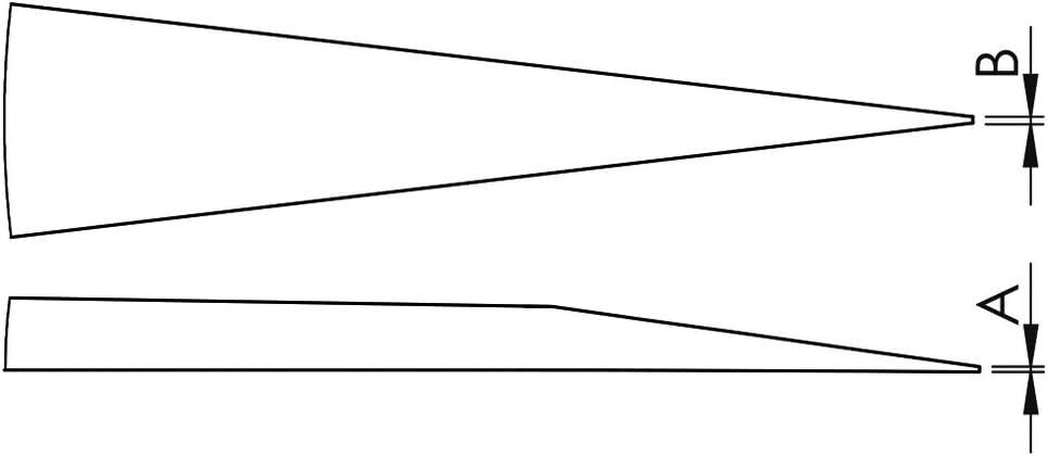 Typ ECOTEC Wetec Pr/äzisions-Mehrzweck-Pinzette 3-SA