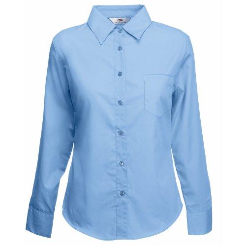Fruit of the Loom - Camisas - para mujer Mediados De Azul