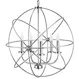 "Kira Home Orbits II Large 24"" 5-Light Modern"
