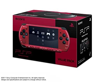"SONY PSP ""Playstation Portable"" Value Pack Red / Black (Pspj-30026) (Japan Import)"
