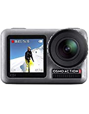 DJI Osmo Action Cam Digital Camera with 2 displays 11m waterproof 4K HDR-Video 12MP 145 Angle Black