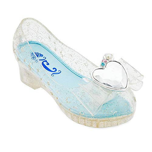 Disney Cinderella Light-Up Costume Shoes for Kids Size 9/10 YTH Multi
